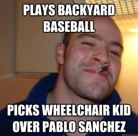 Backyard Baseball Meme Plays Backyard Baseball Picks Wheelchair Kid Pablo