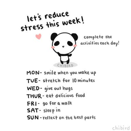 A Day Of Relaxation Thanks To Dorit by Chibird No Stress Panda Chibird