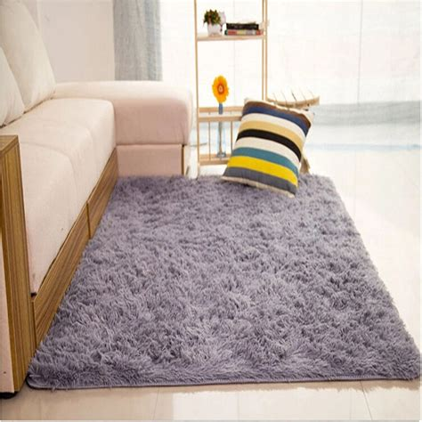 shaggy rugs for bedroom fluffy rugs anti skid shaggy area rug home living room