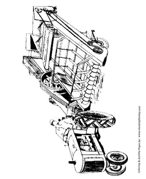 pin farm equipment coloring pages printable farmer on a