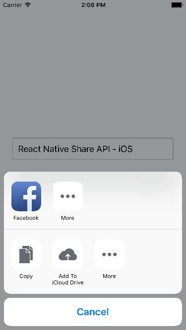 react native android tutorial windows react native share simple message through share api