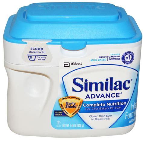 Similac Advance similac advance infant formula with iron stage 1 1 45