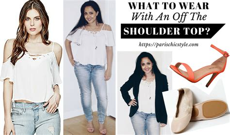 What Do You Wear While Cooking by What To Wear With An The Shoulder Top Everyday Chic
