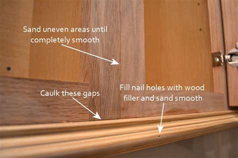 gap between fridge and cabinets fridge wall progress converting wood cabinet doors to