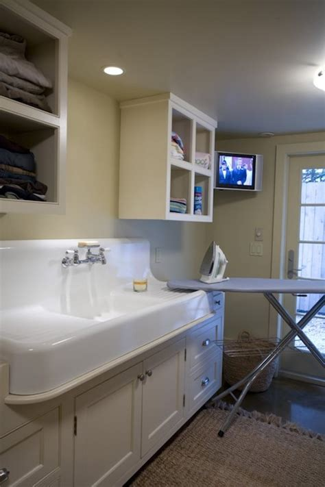Laundry Room Utility Sink Laundry Room Sink Transitional Laundry Room Bockman And Forbes Design