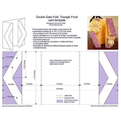 Accordion Gate Fold Card Template by Card Template Category Page 2 Spelplus