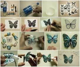 plastic bottle crafts plastic bottles into butterflies craft diy cozy home