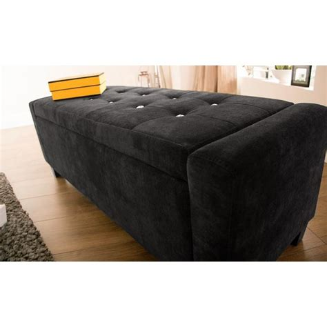 blanket storage bench faux leather fabric chenille diamantes hopsack blanket box