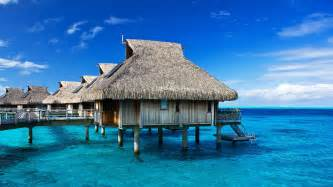 Tiki Hut Resorts Tropical Ocean Hut Resort On The Water Hd 1080p