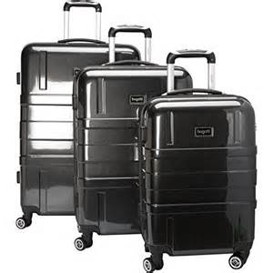 Bugatti Luggage Set Bugatti 3 Luggage Set Black One Size