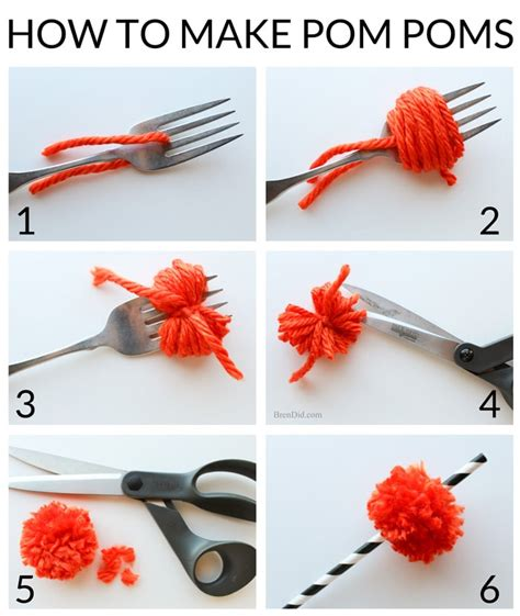 How To Make Pom Poms Out Of Tissue Paper - how to make cheerleading pom poms out of crepe paper 28