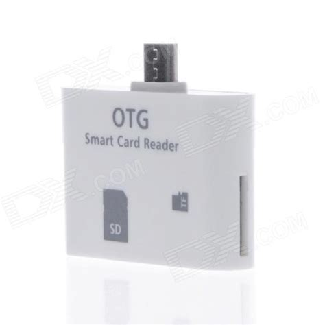 Otg Smart portable high speed micro usb otg smart card reader connection kit for samsung phone tablet pc