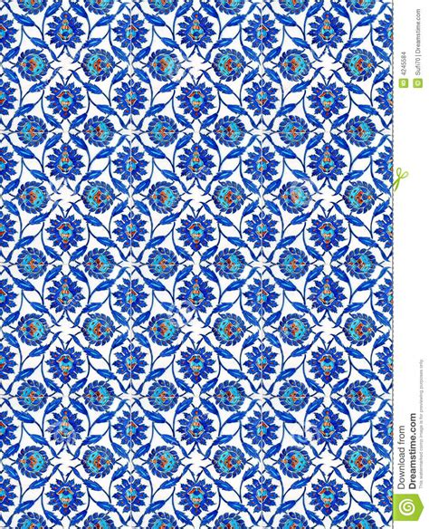 Turkish Tiles Stock Photo Image Of Motif Blue Mosque
