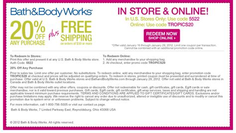 bed body works coupon bath body works the fabulously modest life