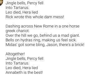 jingle bells percy jackson google search demigod