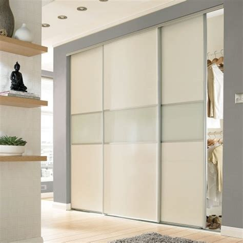 wardrobe sliding fitting for 3 doors overlap soft