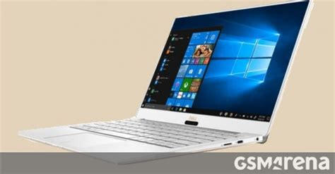 new dell xps 13 with 4k now available in the us gsmarena