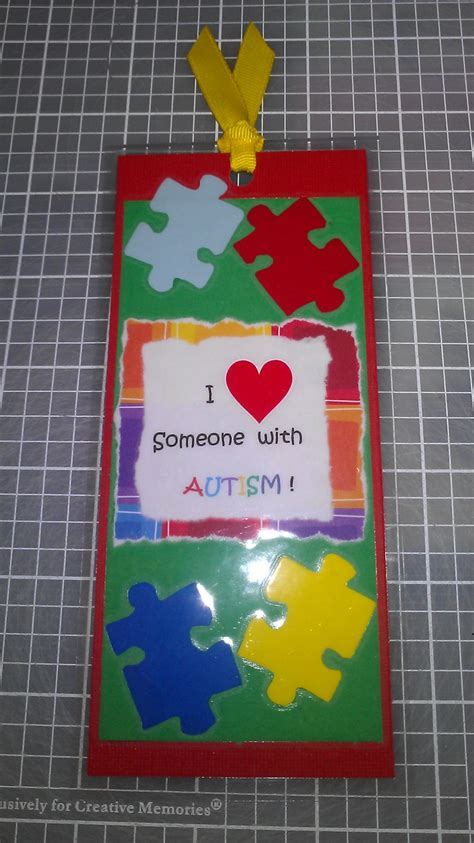printable autism awareness bookmarks 16 best autism crafts images on pinterest autism crafts