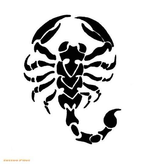 Scorpion Tribal Outline by Tatuaggio Scorpione Consigli