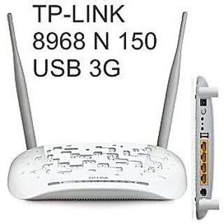 Modem Usb Wifi Tp Link Tp Link Td 8968 Wireless N Usb Adsl2 Modem Router
