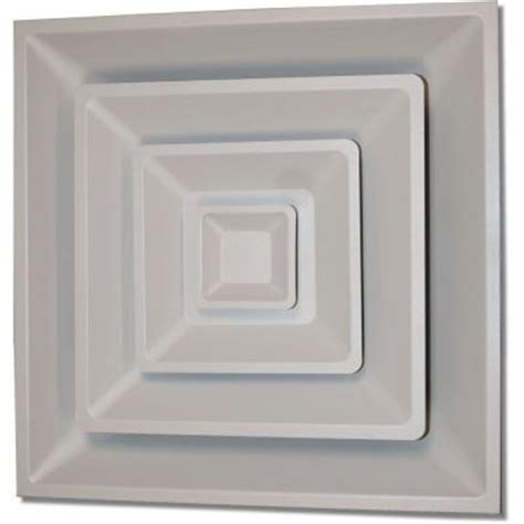 Ceiling Air Vents Home Depot by Speedi Grille 24 In X 24 In White Drop Ceiling T Bar 3