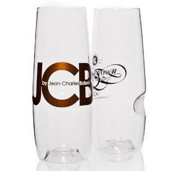 stemless chagne flutes govino stemless personalized flutes set of 72