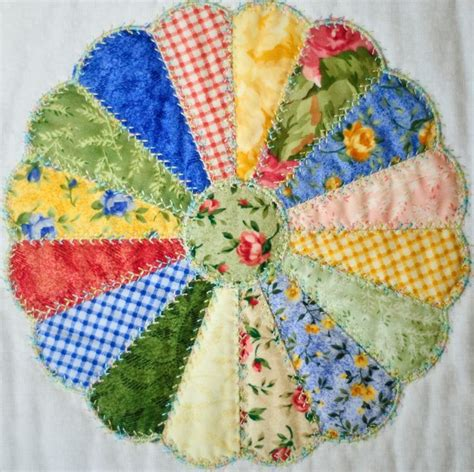 Machine Embroidery Quilting In The Hoop by Dresden Plate Digital Stitches Machine