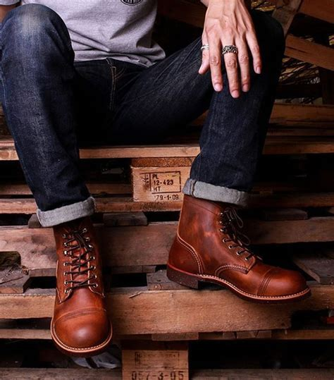 most comfortable red wing boots 39 best red wing heritage moc toe work boot images on