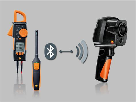 to testo far away yet connected new thermal imagers from testo