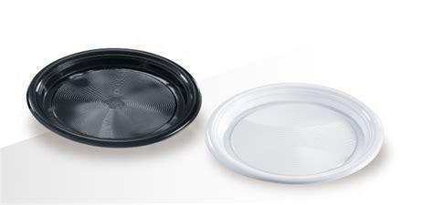 bicchieri bianchi e neri piatti plastica bianchi o neri