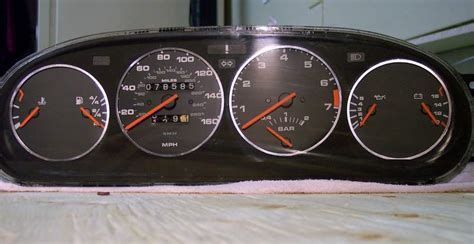 how make cars 1989 porsche 944 instrument cluster instrument cluster lights paper pieces pelican parts technical bbs