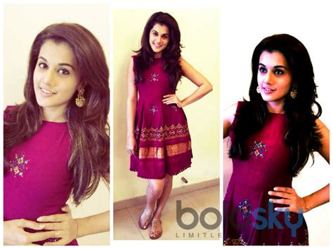 Royal Looks by Taapsee Pannu S Royal Look In Mogra Boldsky