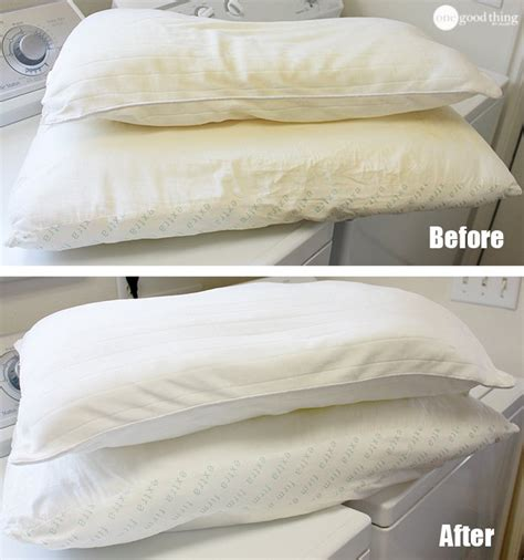 can i wash my couch pillows how to wash whiten yellowed pillows thinkhom