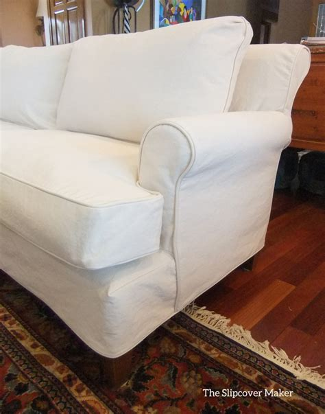 sofa with slipcover natural slipcovers the slipcover maker