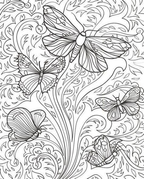 imagenes de mandalas mariposas ausmalen erwachsene schmetterlinge butterfly coloring
