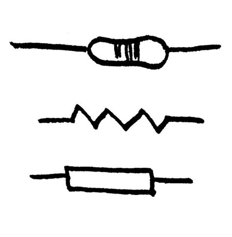 simbol resistor fixed component symbol for a resistor photo symbol for fixed resistor clipart best clipart best