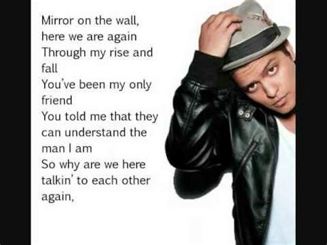 Download Mp3 Bruno Mars Mirror On The Wall | bruno mars mirror on the wall lyrics pinterest