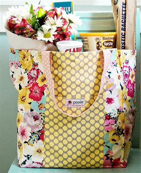 Books Are My Bag Gift Card - jane market bag sewing pattern posie patterns and kits to stitch by alicia paulson