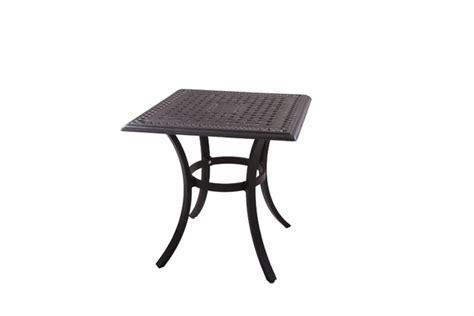 patio end table darlee classic cast aluminum patio end 201088 a darlee 24 quot square end patio table in cast