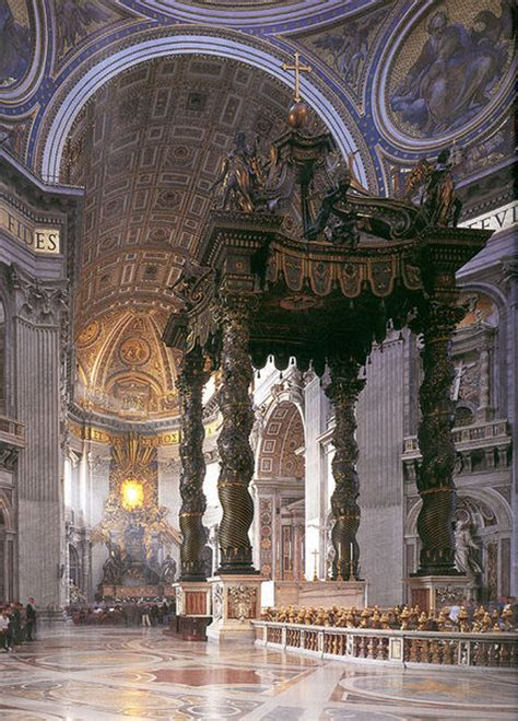 baldacchino bernini file bernini baldachino jpg wikimedia commons