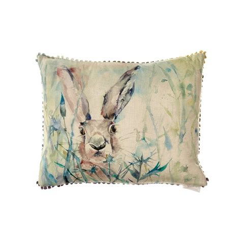 Where Can I Buy New Cushions by Voyage Maison Rabbit Cushion C170170 Free Uk Delivery