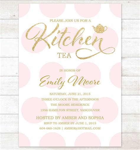 kitchen tea invitation ideas 25 best ideas about kitchen tea invitations on