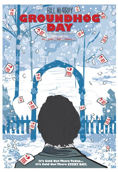 groundhog day where filmed groundhog day 1993 inspired poster quot does phil