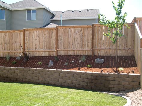 Fences Decks And Retaining Walls Chion Property Garden Wall Fencing