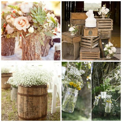 decoracion boda rustica 5 elementos b 225 sicos para una boda de tema r 250 stico 2017