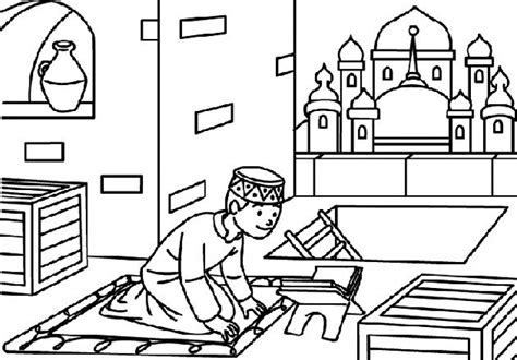 coloring pages islamic coloring pages of mosque ramadan and eid coloring pages