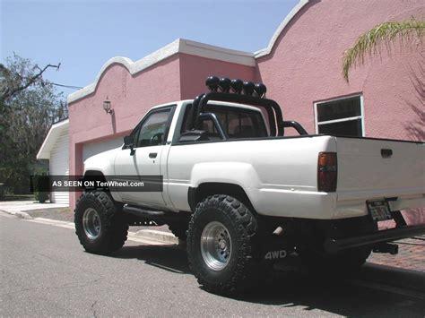 toyota pickup bed 1984 84 toyota 4x4 truck sr5 short bed trd motor pkg the