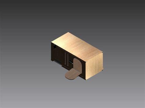 Kandang Burung Merpati 2 Pintu kandang burung dara merpati 3d cad model grabcad