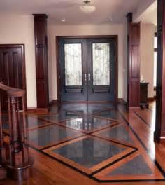 installing tile wood floors together grid patterns
