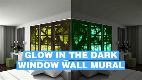 window wall murals glow in wall mural window glowing wall mural